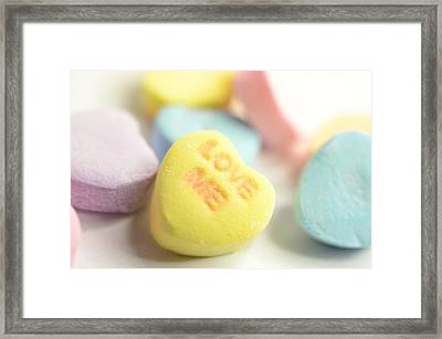 Love Me  Framed Print by Marianna Mills
