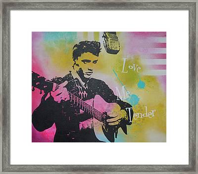 Love Me Tender Framed Print by Bitten Kari