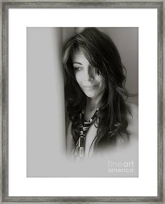 Love Me Tender Love Me Dear Tell Me You Are Mine. Viewed 218 Times  Framed Print by  Andrzej Goszcz