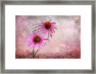 Love Music Framed Print by Mary Timman
