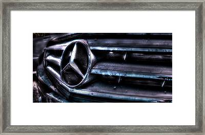 Love My Benz Framed Print