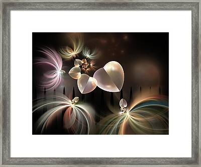Love Needs Freedom Framed Print