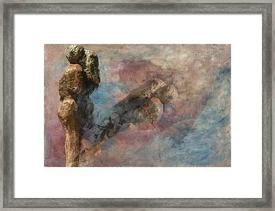 Love Never Dies Framed Print by Davina Washington