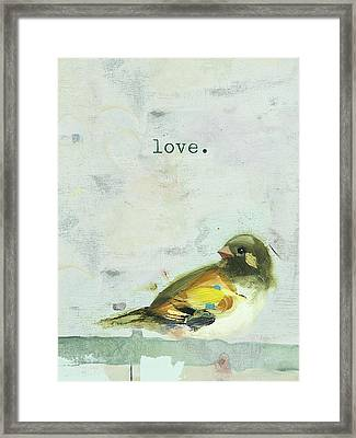 Love Framed Print by Ninalee Irani