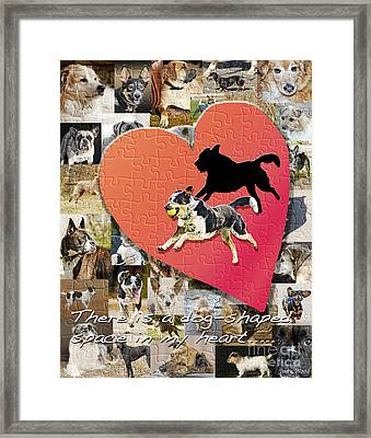 Love Of Dogs--general Version Framed Print