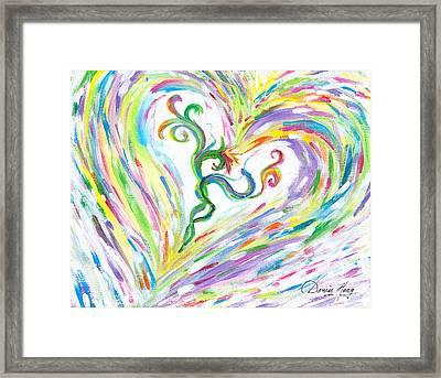 Love Of Parents Love Of Child Framed Print by Denise Hoag