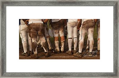Love Of The Game Panorama Framed Print by Anna Lisa Yoder