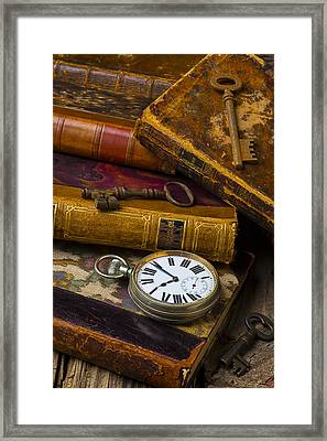 Love Old Books Framed Print