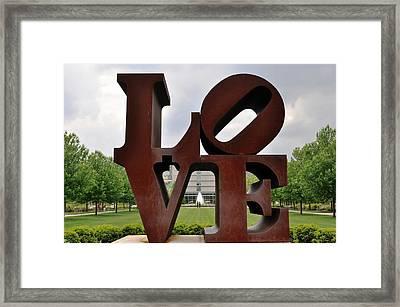 Love Framed Print by Pamela Schreckengost