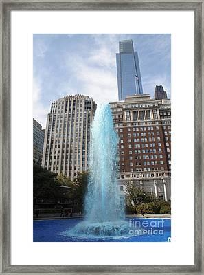 Love Park Framed Print