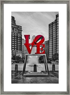 Love Park II Framed Print