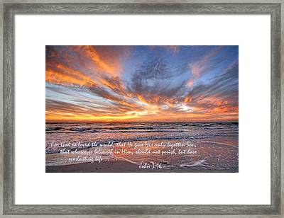 Love Personified Framed Print