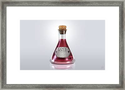 Love Potion Framed Print by Allan Swart
