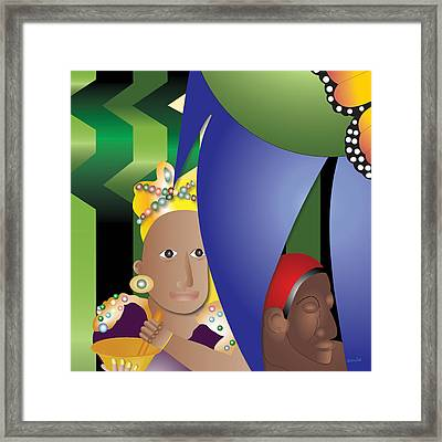 Love Potion For The Queen Framed Print