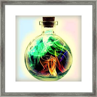 Love Potion Framed Print by ABA Studio Designs