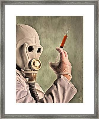 Love Potion Framed Print by Michael Pickett