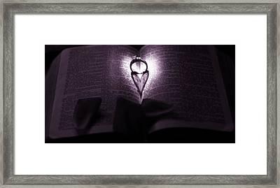 Love Psalm Framed Print by Dan Sproul