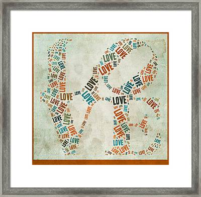 Love Quatro - 29ct04 Framed Print by Variance Collections