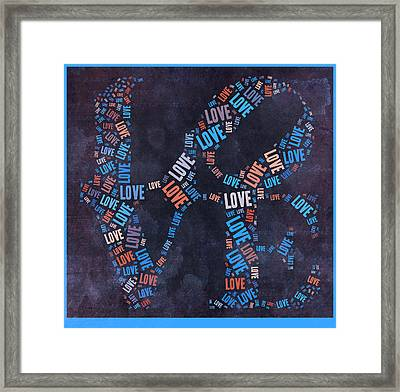 Love Quatro - 30ct04 Framed Print by Variance Collections