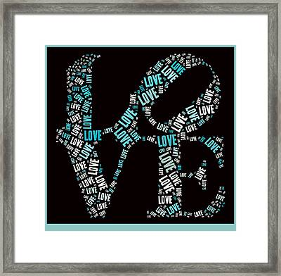 Love Quatro - S01a Framed Print by Variance Collections