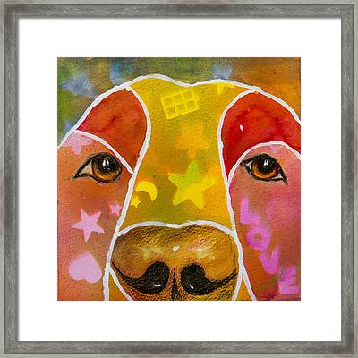 Love Framed Print by Roger Wedegis