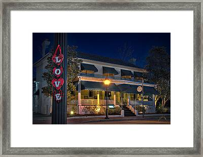 Love Smithfield Inn Framed Print