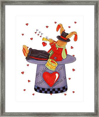 Love Somebunny Framed Print by Tracy Campbell