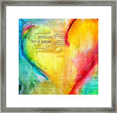 Love Song Framed Print