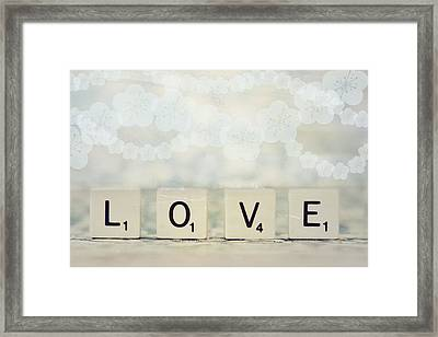 Love Spell Framed Print by Sofia Walker