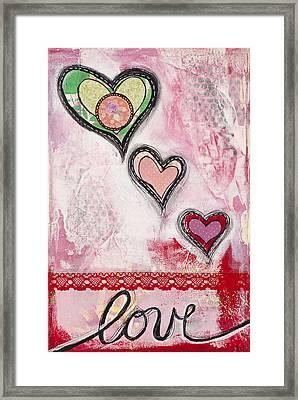 Love  Framed Print by Stanka Vukelic