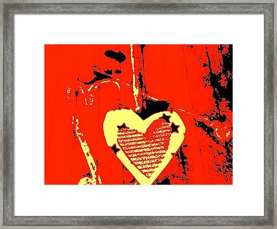 Love-star Framed Print by Dorothy Rafferty