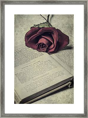 Love Stories Framed Print by Joana Kruse