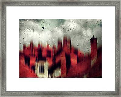 Love Story Framed Print