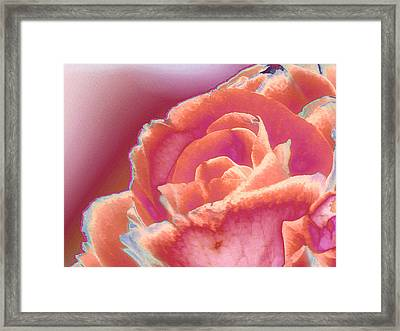 Love Story - Forever Framed Print by Wendy J St Christopher