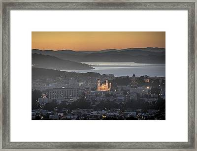 Love That Melts The Heart Of A Lonely Soul Framed Print by Peter Thoeny