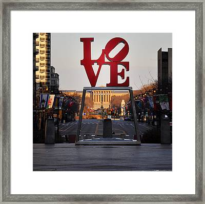 Love The Parkway Framed Print by Bill Cannon