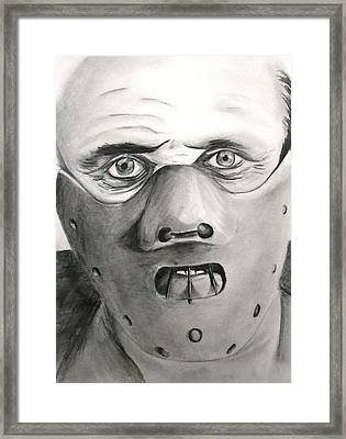 Love The Suit Framed Print