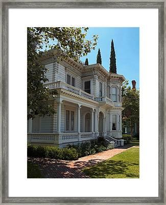 Love This Neighborhood. Framed Print by Glenn McCarthy Art and Photography