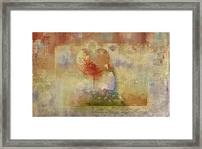 Love Tree 02-bt01bcr02 Framed Print
