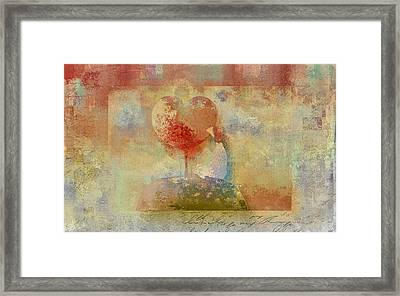 Love Tree - Pst02z01 Framed Print by Variance Collections