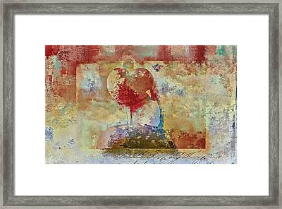 Love Tree - Pst03x01 Framed Print by Variance Collections