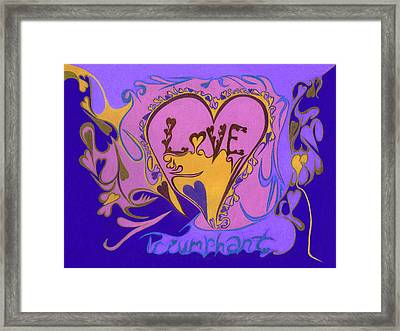 Love Triumphant Framed Print by Kenneth James