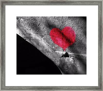 Love Under The Bridge Framed Print