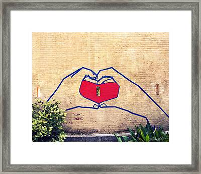 Love Framed Print by Vanessa Baladad