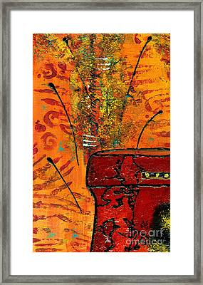 Love Vessel For My Woman Framed Print by Angela L Walker