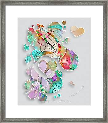 Love Worth Finding Framed Print by Gayle Odsather
