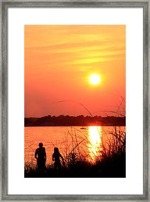 Love You Framed Print by Mark Ashkenazi