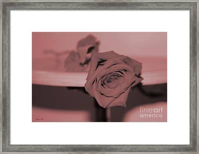 Love You... Framed Print