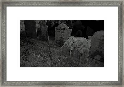 Love You To Death Framed Print