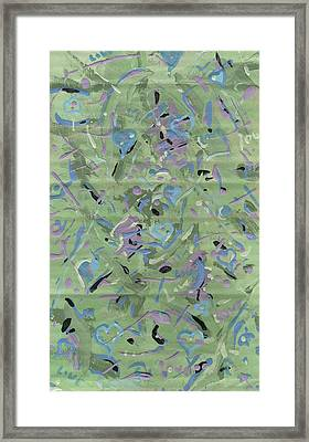 Framed Print featuring the painting Love by Yshua The Painter